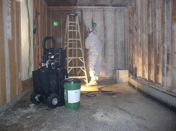 Foaming Meth Lab Cleaning